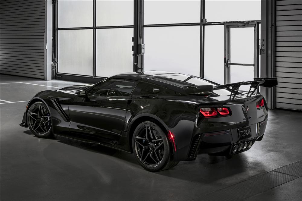 First Production 2019 Chevrolet Corvette Zr1 For Sale Gas Monkey Garage Richard Rawlings Fast N Loud Corvette Zr1 Chevrolet Corvette Black Corvette