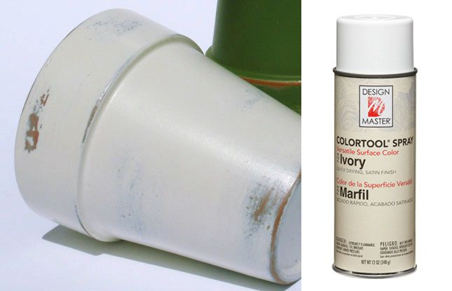 Ivory Perfect Pink Design Master Spray Paint Craft Spray Design