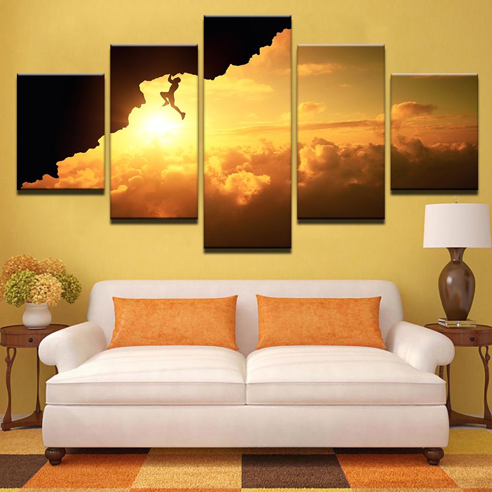 Canvas Prints Pictures Wall Art Framework Home Decor 5 Pieces X ...