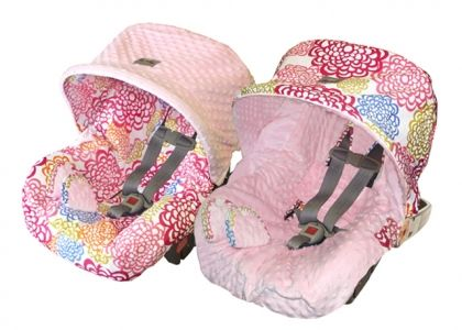 Miraculous Baby Ritzy Rider Infant Car Seat Cover In Fresh Bloom Forskolin Free Trial Chair Design Images Forskolin Free Trialorg