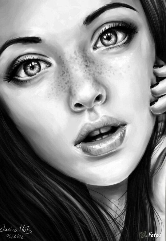 PENCI ART - drawings - female faces | Artsy | Pinterest ...