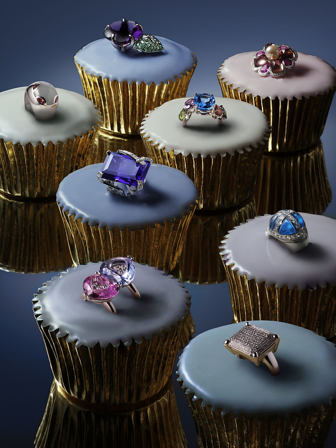 "Photo of City Magazine ""Eat your cake"" jewellery editorial photography by Chris Turner"