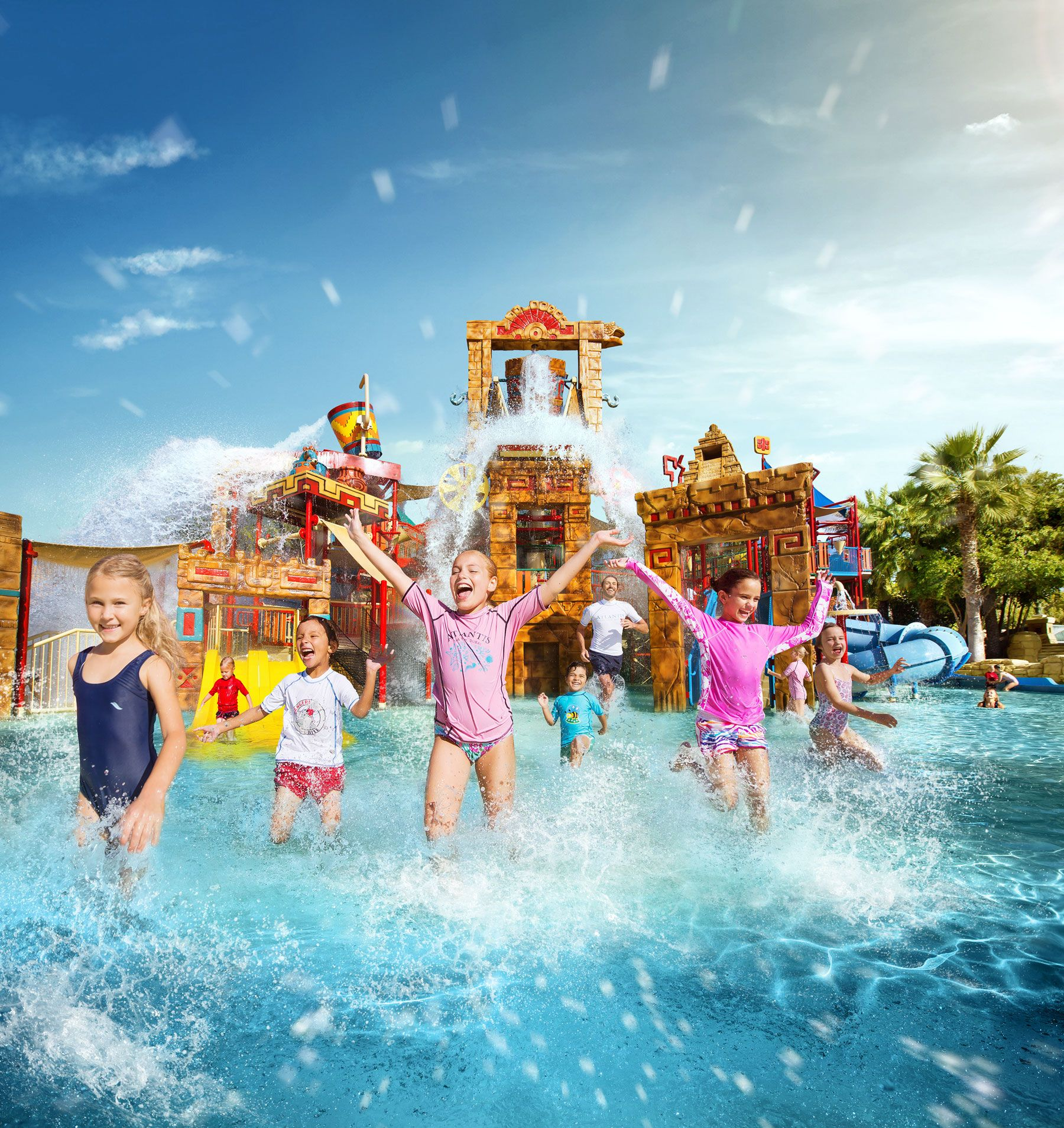 On Sunday 27 March, our award-winning Aquaventure Waterpark will be transformed into an Easter egg hunting ground for a day a family fun! Jump onto one of our water slides and search for the bright Easter eggs scattered around the park, as you slip and slide on our adventurous rides!