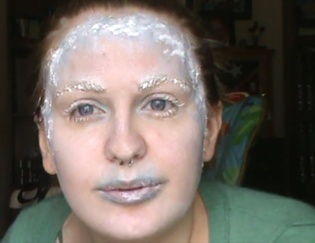 frozen-makeup2 | Special effects and Halloween make up | Pinterest ...