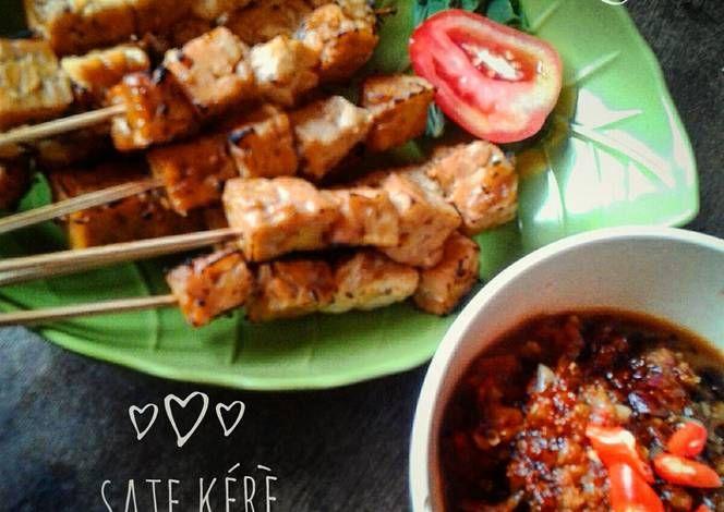 Resep Sate Kere Tahu Tempe Oleh Kunitma Resep Resep Tahu Makanan Resep Masakan Indonesia