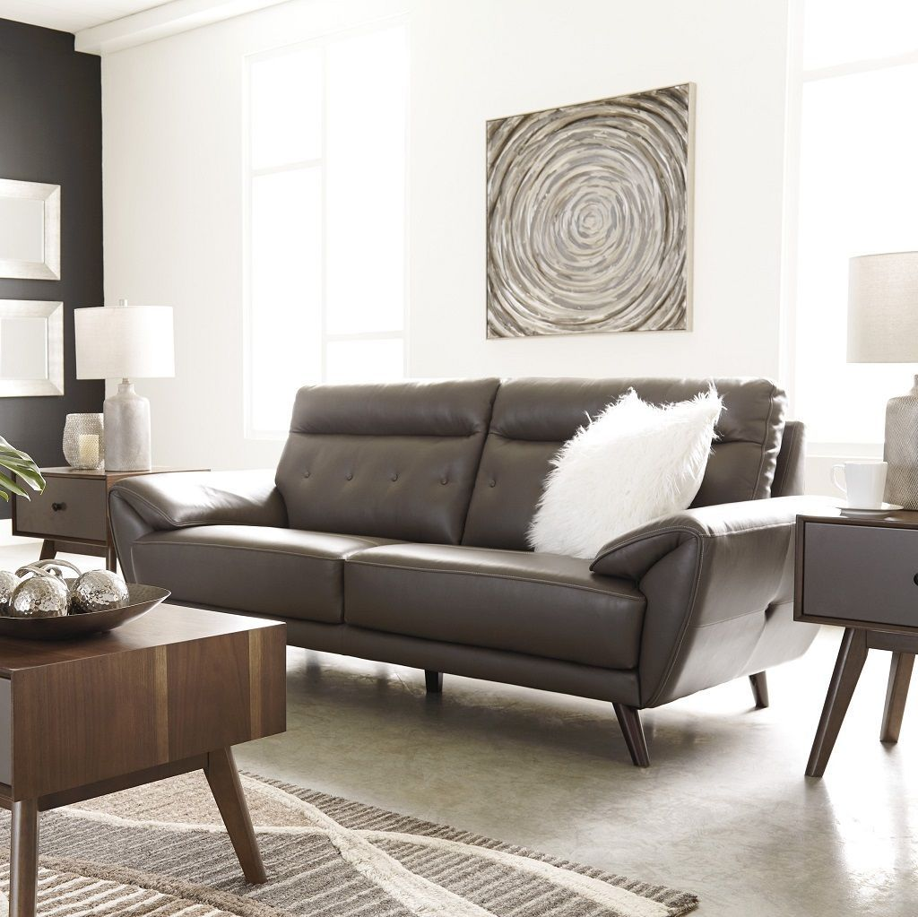 New Lexie Genuine Leather Sofa Only 1399 Including Tax Free