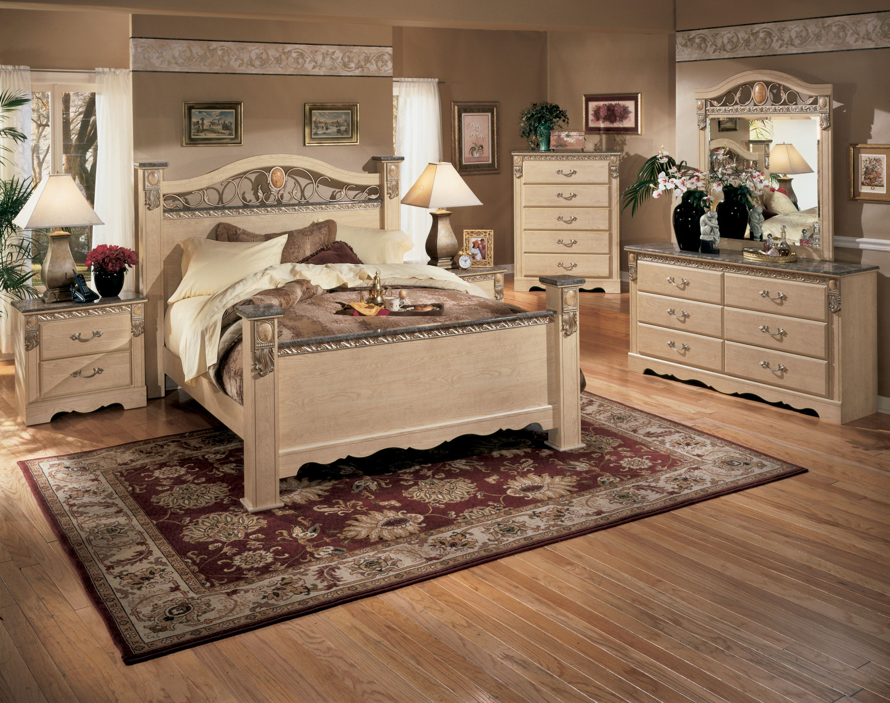 I Do Like The Cutout Parts Ashley Furniture Bedroom Light Oak