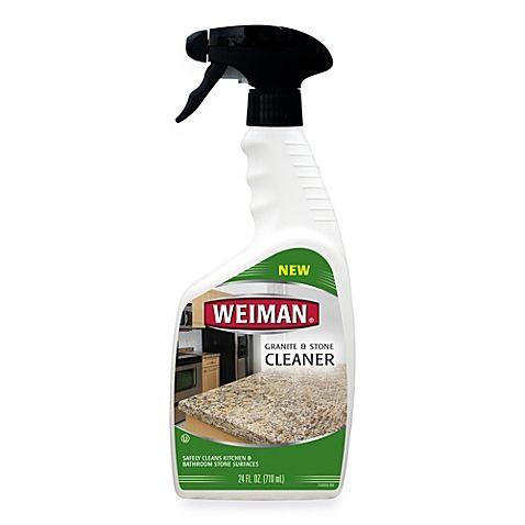 Weiman Granite Stone Polish 24 Ounce Spray Bottle Bed Bath