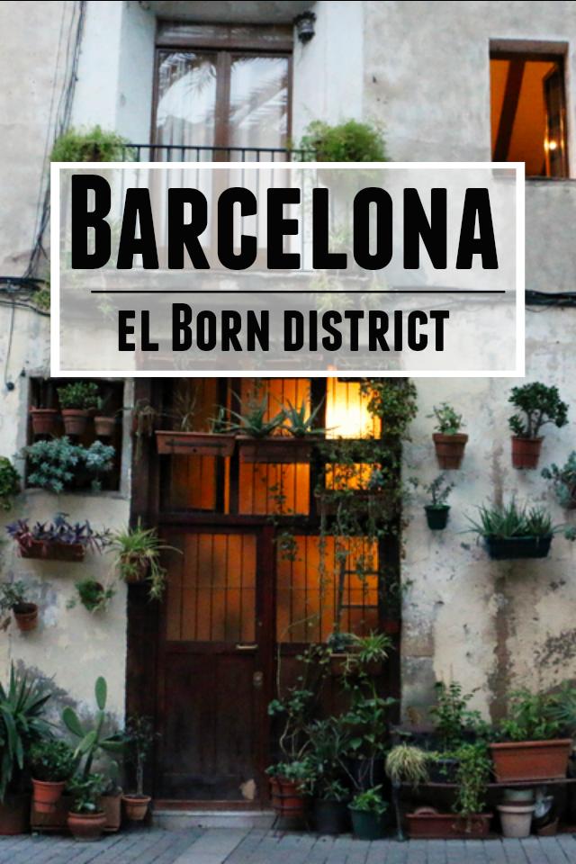 Barcelona's El Born neighborhood