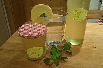 Chrissis Zitronensirup – Grundstoff für Zitronenlimonade
