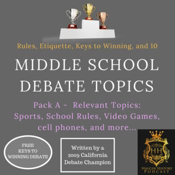 debate topics for teachers