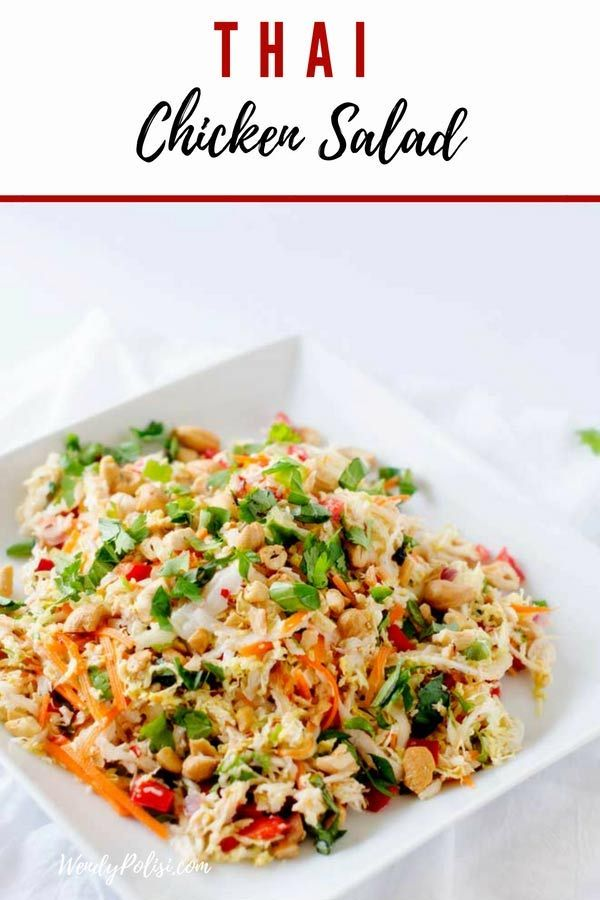Thai Chicken Salad images
