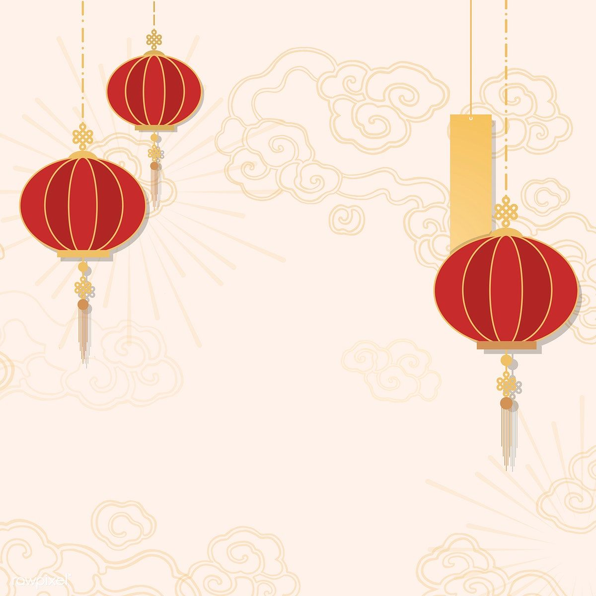 chinese new year 2019 greeting background free image by rawpixel com kappy kappy chinese new year background chinese background vector free chinese new year 2019 greeting