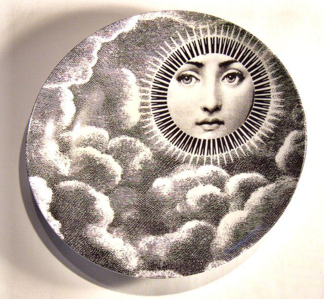 fornasetti plate # 101 tema e variazioni