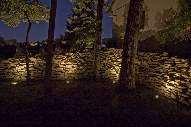 outdoor accent lighting if you need some landscaping done around