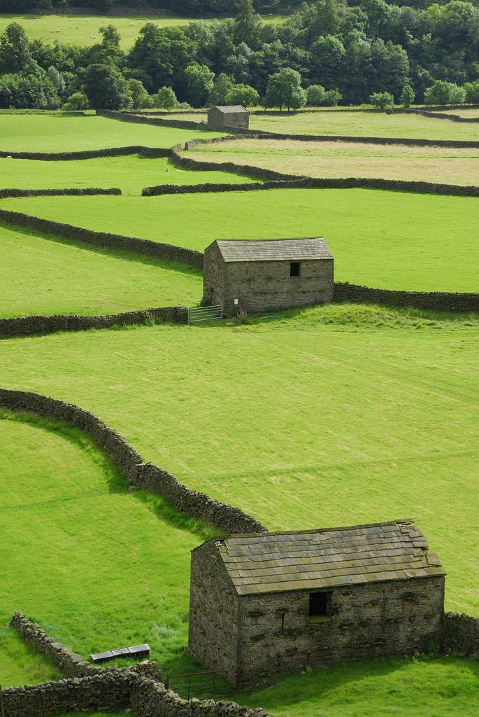 Stone Barns in Swaledale, Yorkshire, England | by Marcus Reeves