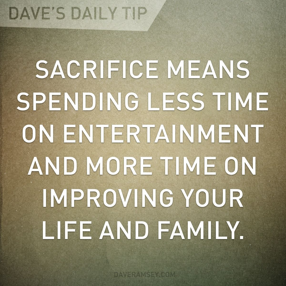 Life Sacrifice Quotes Keep The First Things Firstget Your Priorities In Order