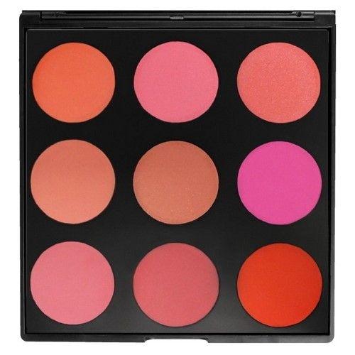 MORPHE BRUSHES The Blushed Blush Palette - 9B | Morphe ...