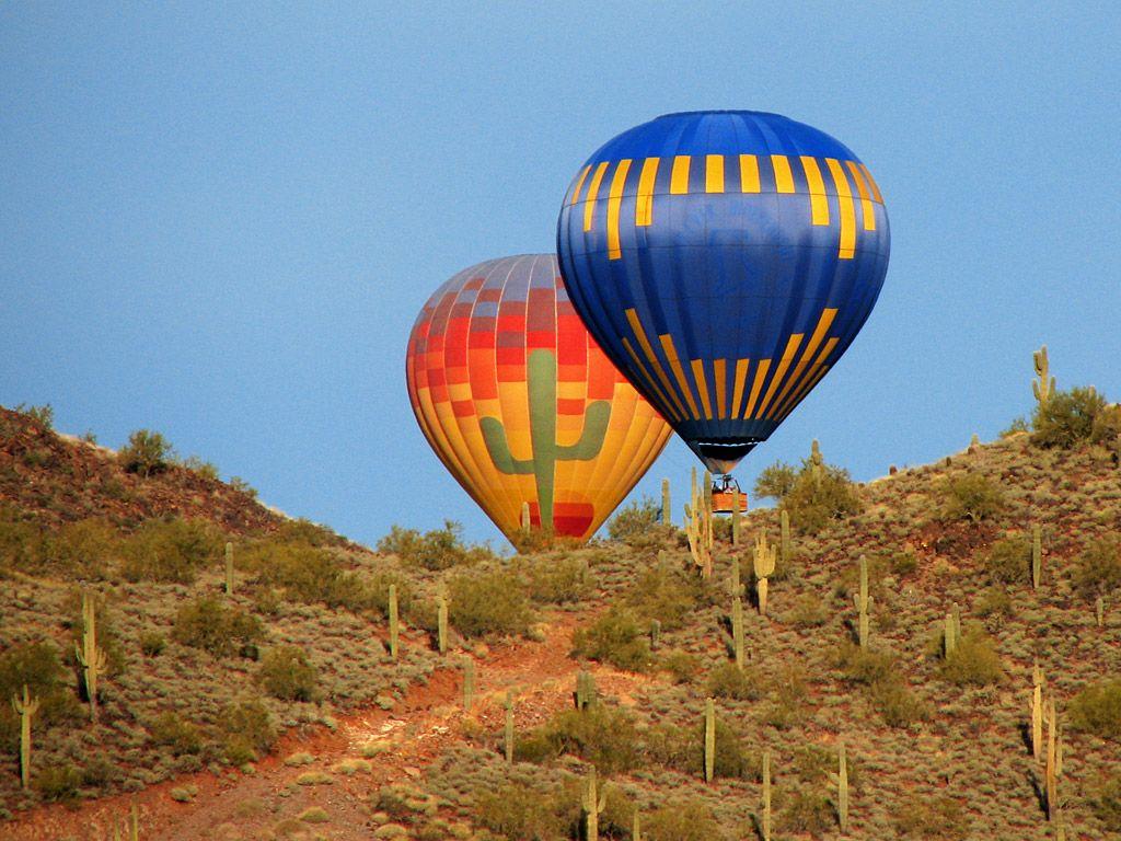 Phoenix Arizona Hot Air Balloon Rides by Apex Balloons