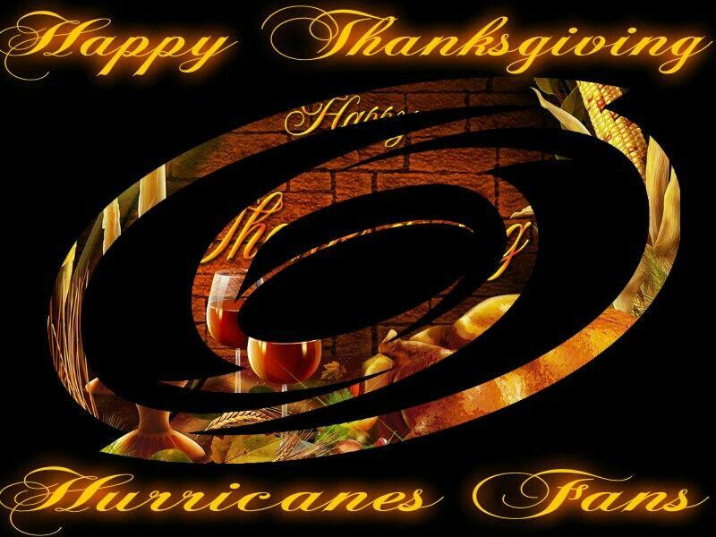 Carolina Hurricanes Thanksgiving