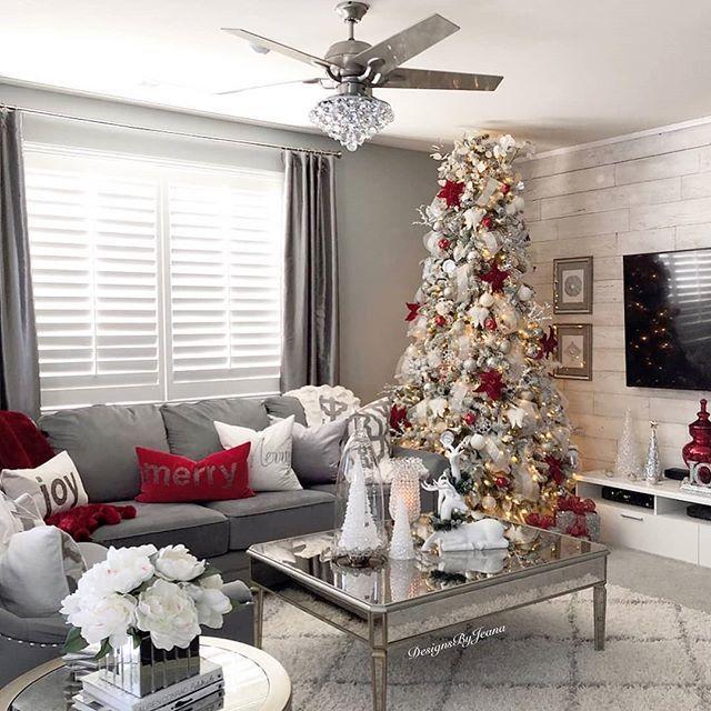 Winter Home Decor For Living Room Elegant Christmas Decor Classy Christmas Decor Christmas Home