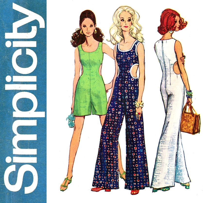 Elegant Butterick B6224 Womens Kimono &amp Jumpsuit Very Loosefitting, Unlined Kimono Has Mockbands Loosefitting Jumpsuit Has Elasticized Seamed Waist, Tie End Optional Knotted, And Side Front Pockets D Tapered All Have Stitched Hems
