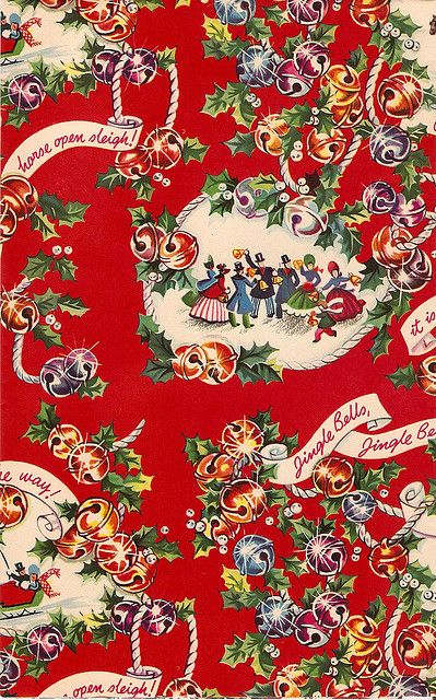 wrapping paper Vintage Christmas Wrapping Paper Vintage Christmas Images Old Christmas Retro Christmas  sc 1 st  Pinterest & Vintage Wrapping Paper | VINTAGE CHRISTMAS IMAGES | Vintage ...