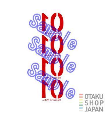 VOCALOID Miku Hatsune cosplay tattoo sticker | OtakuShopJapan [Cosplay Shop]