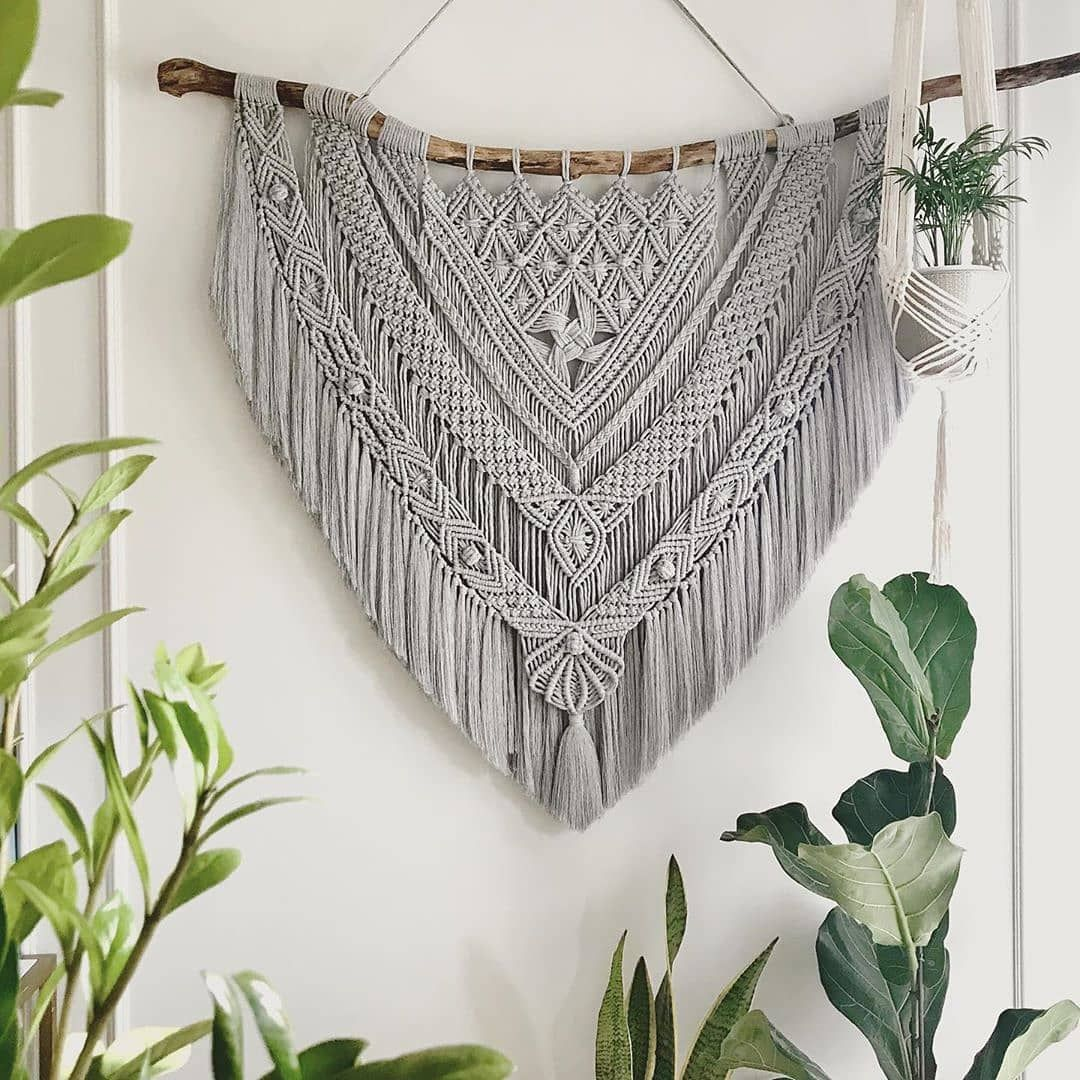 "fiberart_community on Instagram: ""Work of @macrame_stories_by_ab . . . . ."""
