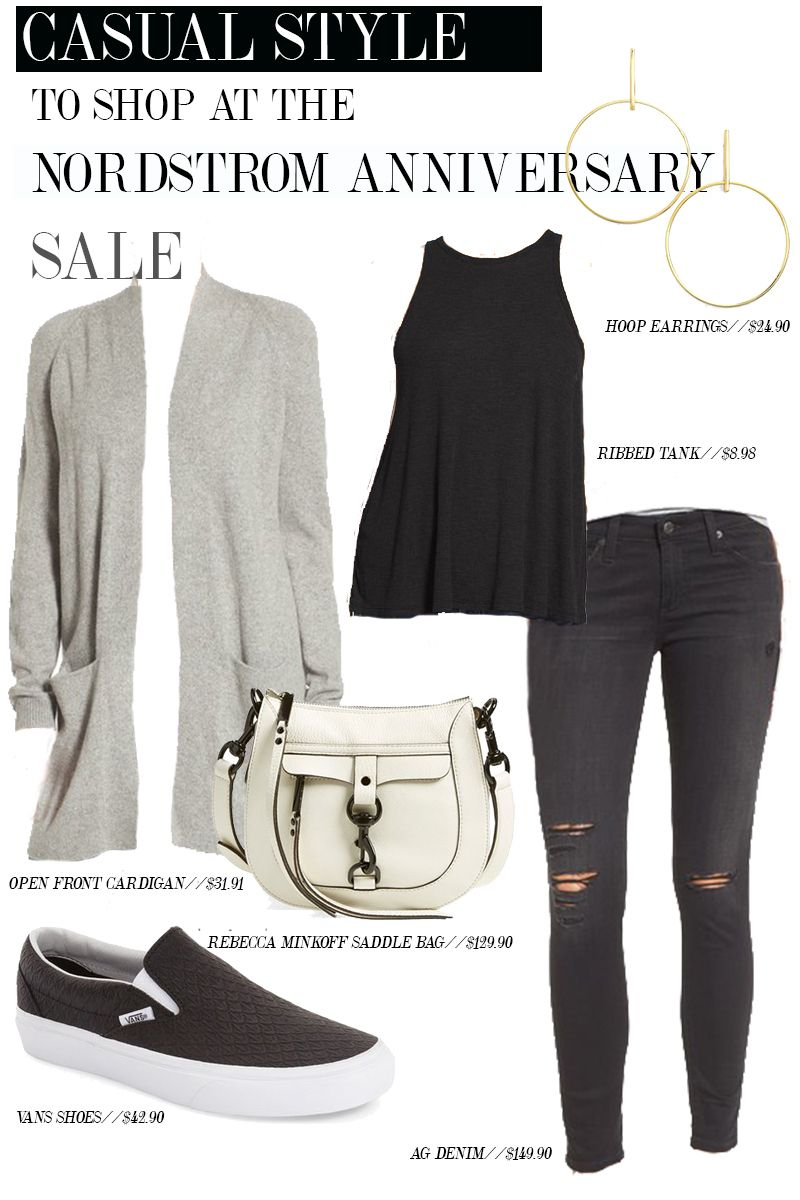 6da2250e7c45 Get this easy comfortable and stylish outfit from the Nordstrom Anniversary  Sale 2016. Those VANS shoes are basically everything.