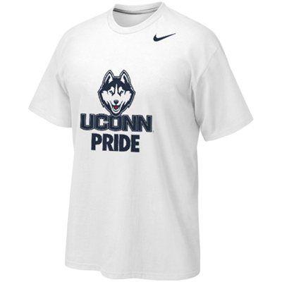 d79f638d97 Nike UConn Huskies Bench Pride Legend Performance T-Shirt - White ...