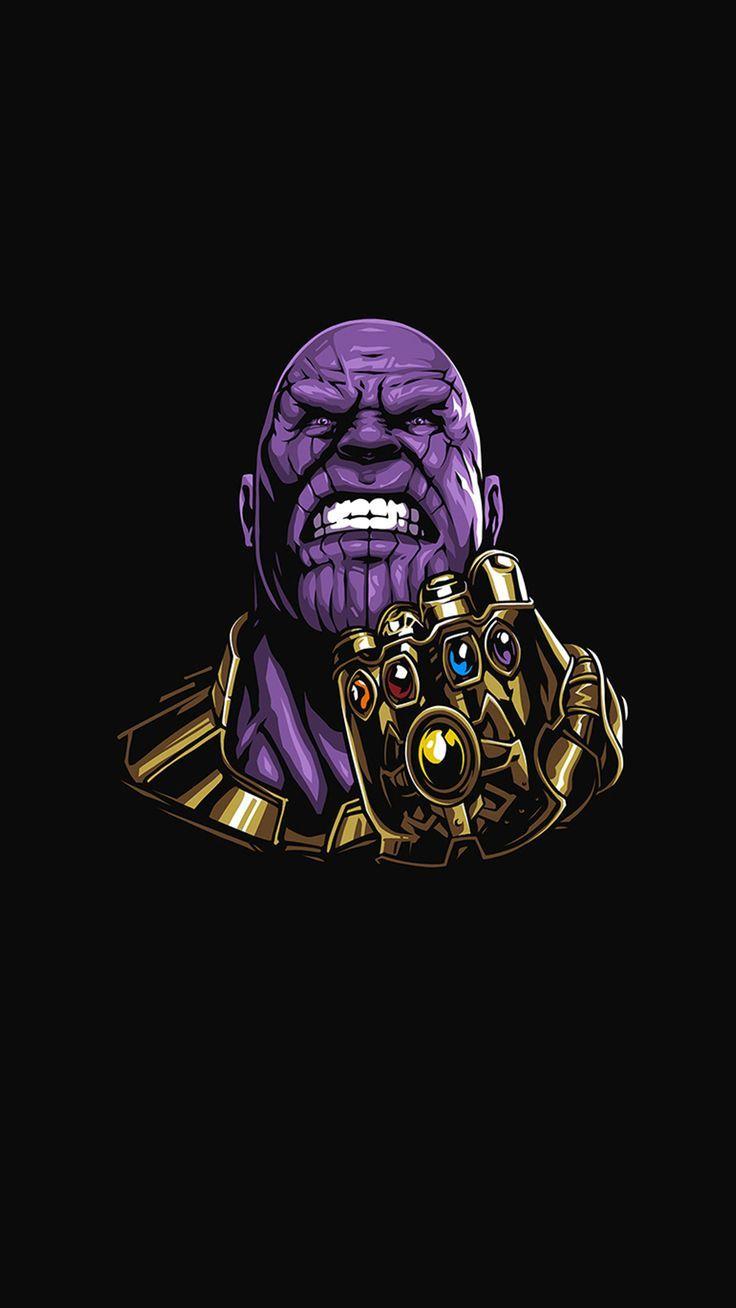 Als Hintergrundbild Thanos Wallpaper Em 2020 Desenho Dos