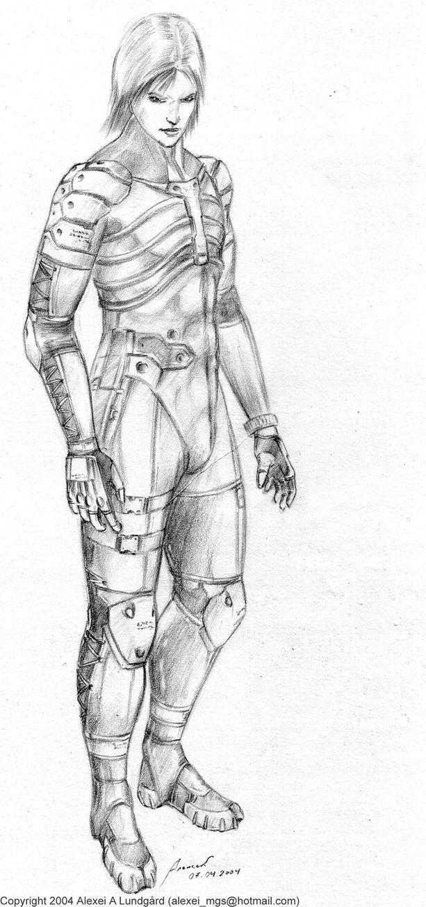 My old Raiden pencil sketch