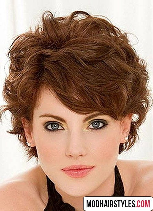 Best 20 Short Wavy Hairstyle Ideas With Images Fine Curly Hair Short Curly Hairstyles For Women Short Curly Haircuts