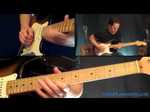 Parisienne Walkways Guitar Solo Lesson - Gary Moore - Famous Solos ...