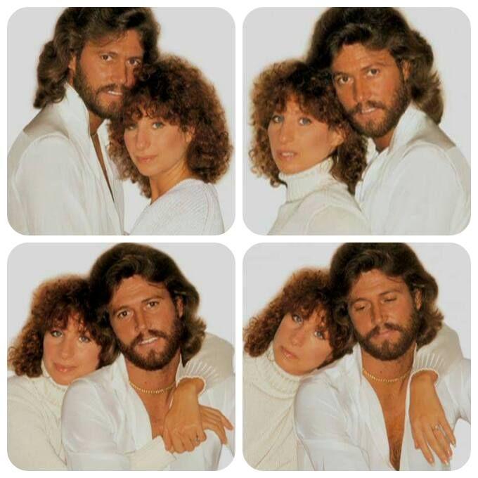 Barbra Streisand Barry Gibb Guilty Cover Art Outtakes 1980