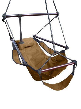 Hang7 Vivere Hanging Chair Walnut Walmart Ca Hanging Hammock