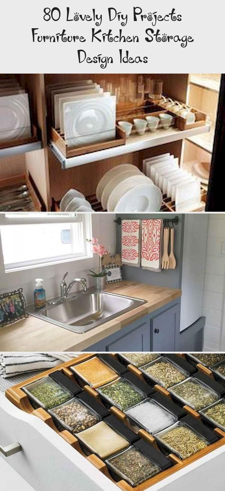 6 Lovely Diy Projects Furniture Kitchen Storage Design Ideas in