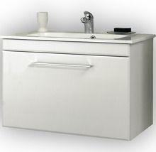 Waschtischunterschrank Pelipal Seo 75 Cm Weiss Glanzend Zerlegt Waschtischunterschrank Schrank Gaste Wc