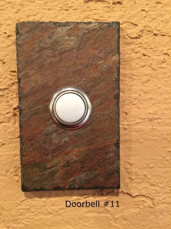 Slate doorbell - Stone doorbell button - numbers 11 - 15 & Slate doorbell - Stone doorbell button - numbers 11 - 15 ... pezcame.com