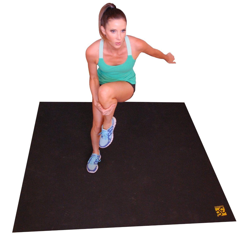 Large Exercise Mat Designed For HomeBased