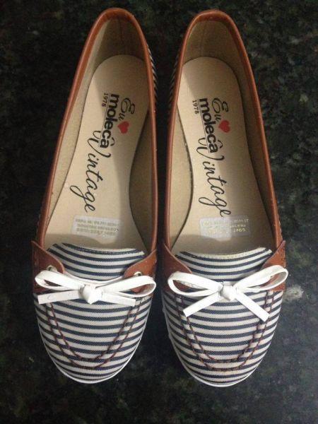 f272a4086 Sapatilha Moleca - Brechó da Maroca | shoe lover | Shoe boots, Shoes ...
