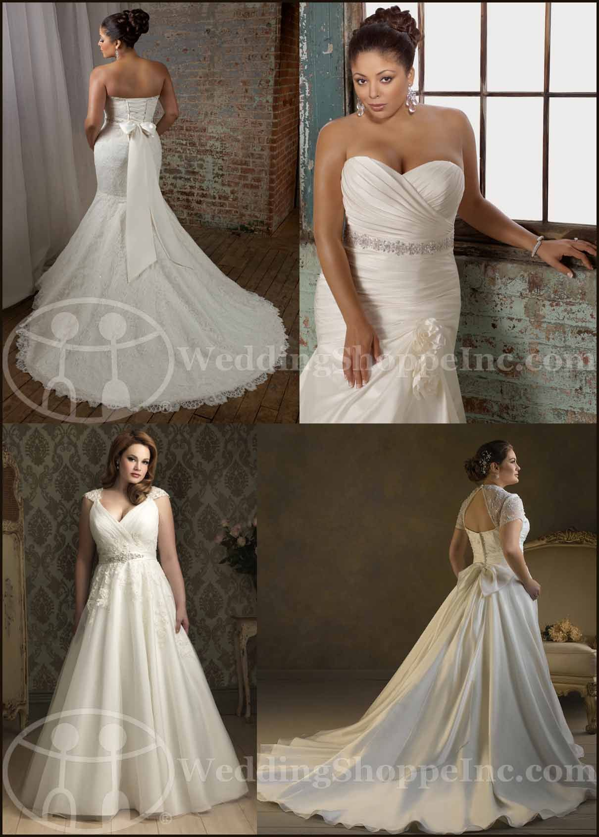 78  images about Wedding Dresses on Pinterest  Plus size wedding ...