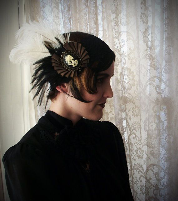 Roaring 1920's Flapper style Headband with by TheArtfulAlias