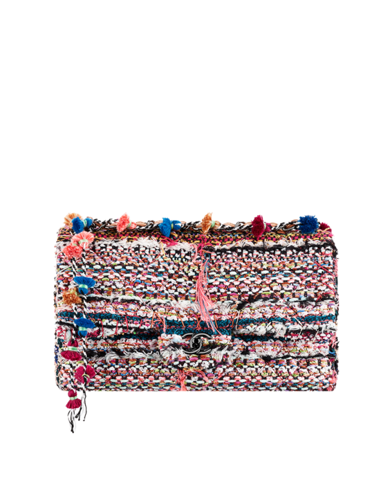 2c503577e92d23 Tweed flap bag with a chain... - CHANEL | CHANEL | Fashion, Chanel ...