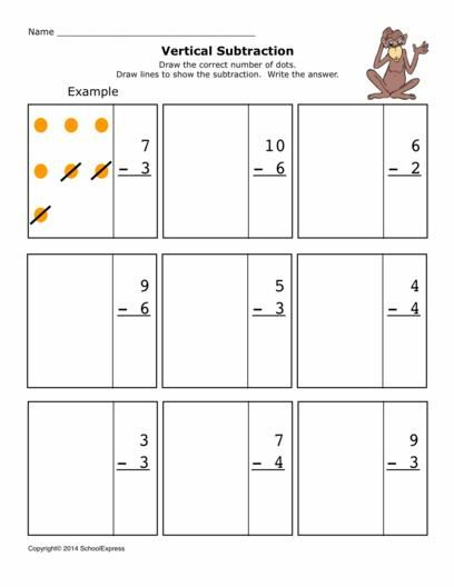 17000 Free Worksheets Teaching Subtraction Worksheets Free Free Math Worksheets Vertical subtraction worksheets for