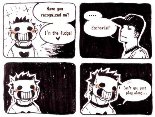 Off Zacharie X Batter Comic