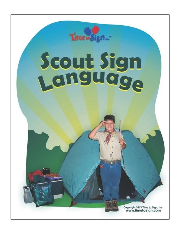 It's just a graphic of Tactueux Boy Scout Oath in Sign Language Printable