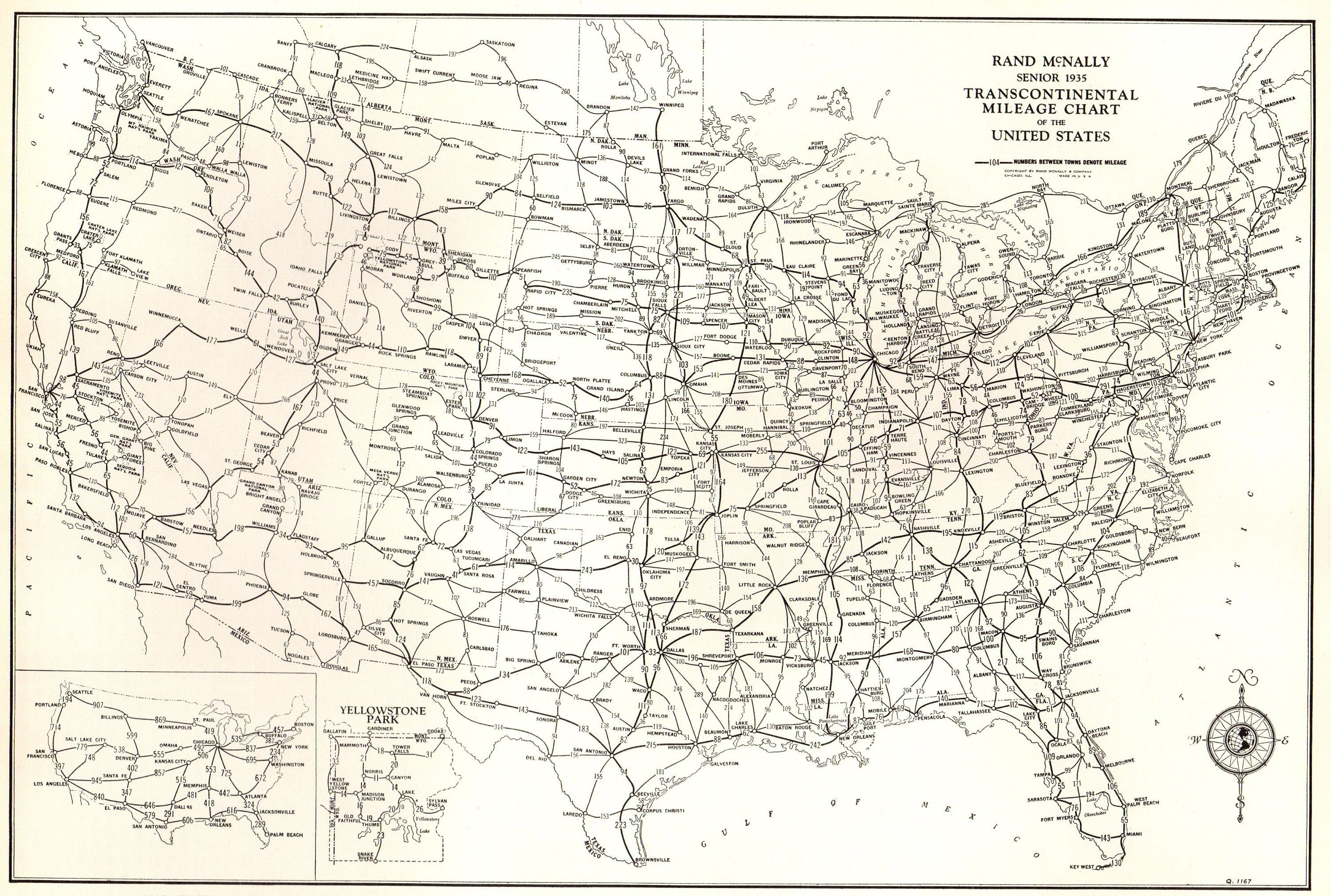 Black And White Map Of The Us 1939 Vintage UNITED STATES Map of the United States Print Black