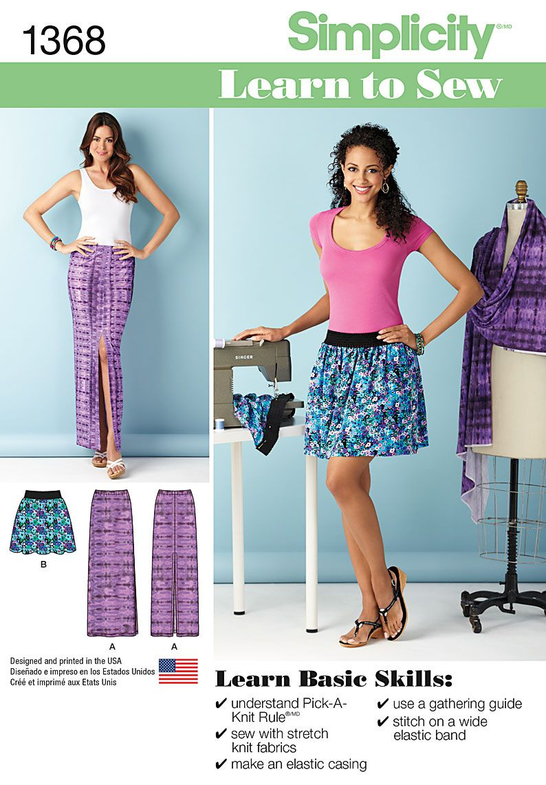 I like the skirt on the right photo. Simplicity Creative Group ...
